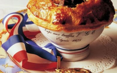 Знаменитый рецепт супа V. G. E. от Поля Бокюза